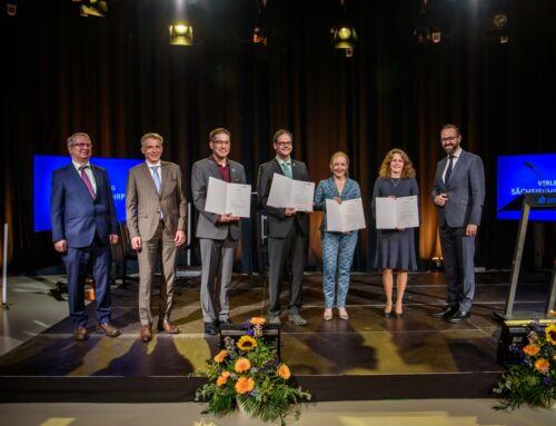 Ausgezeichnete Lehre: Professor Ritter mit Sächsischem Lehrpreis geehrt